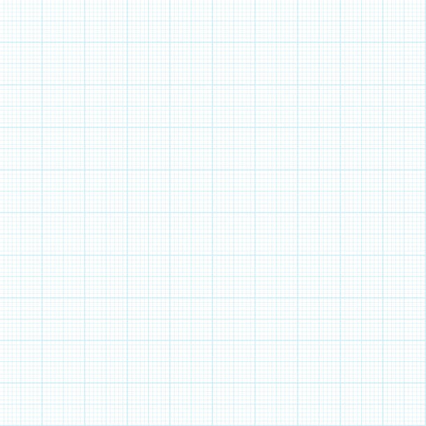 seamless graph paper background - lined paper stock illustrations