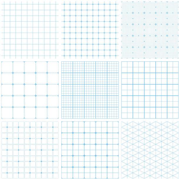 シームレスなグラフ用紙 - メモ点のイラスト素材/クリップアート素材/マンガ素材/アイコン素材