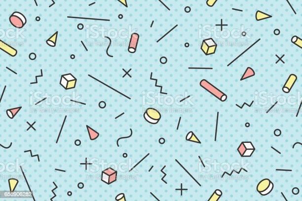 Seamless graphic pattern 80s90s trendy styles vector id658906282?b=1&k=6&m=658906282&s=612x612&h=8llmq1ao6lrfupujsijigmkjcnymxxwcneutr7ujrtk=