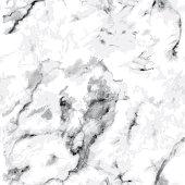Seamless gray marble pattern. Luxury stone texture on white
