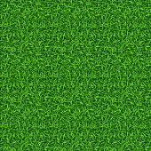 Seamless green grass vector pattern