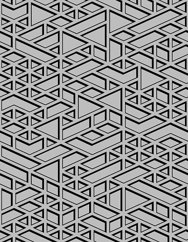 seamless  grey  textured  geometric  pattern