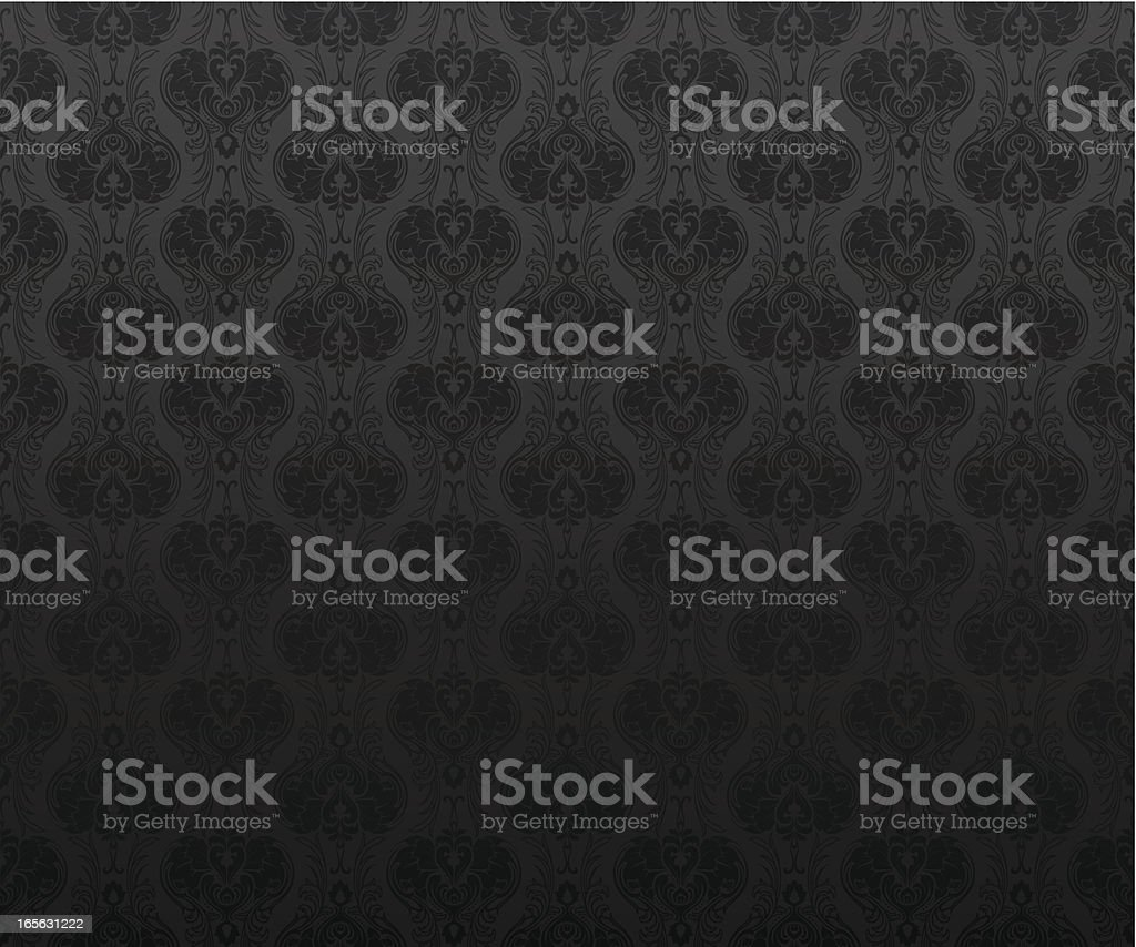 Seamless grey wallpaper background royalty-free stock vector art