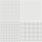 Vector illustration 4 grids seamless pattern.