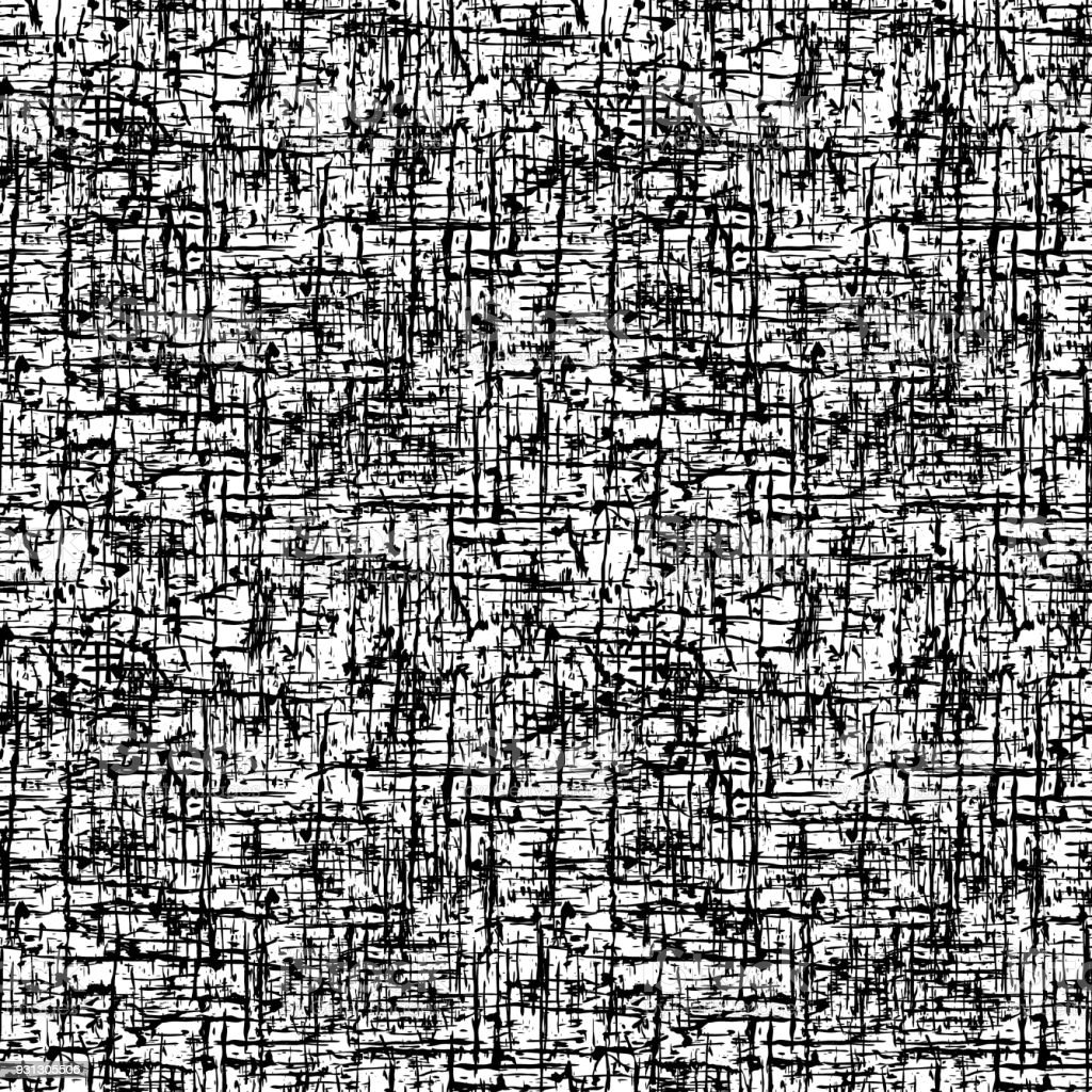 Seamless Grunge Pattern Abstract Black And White Background