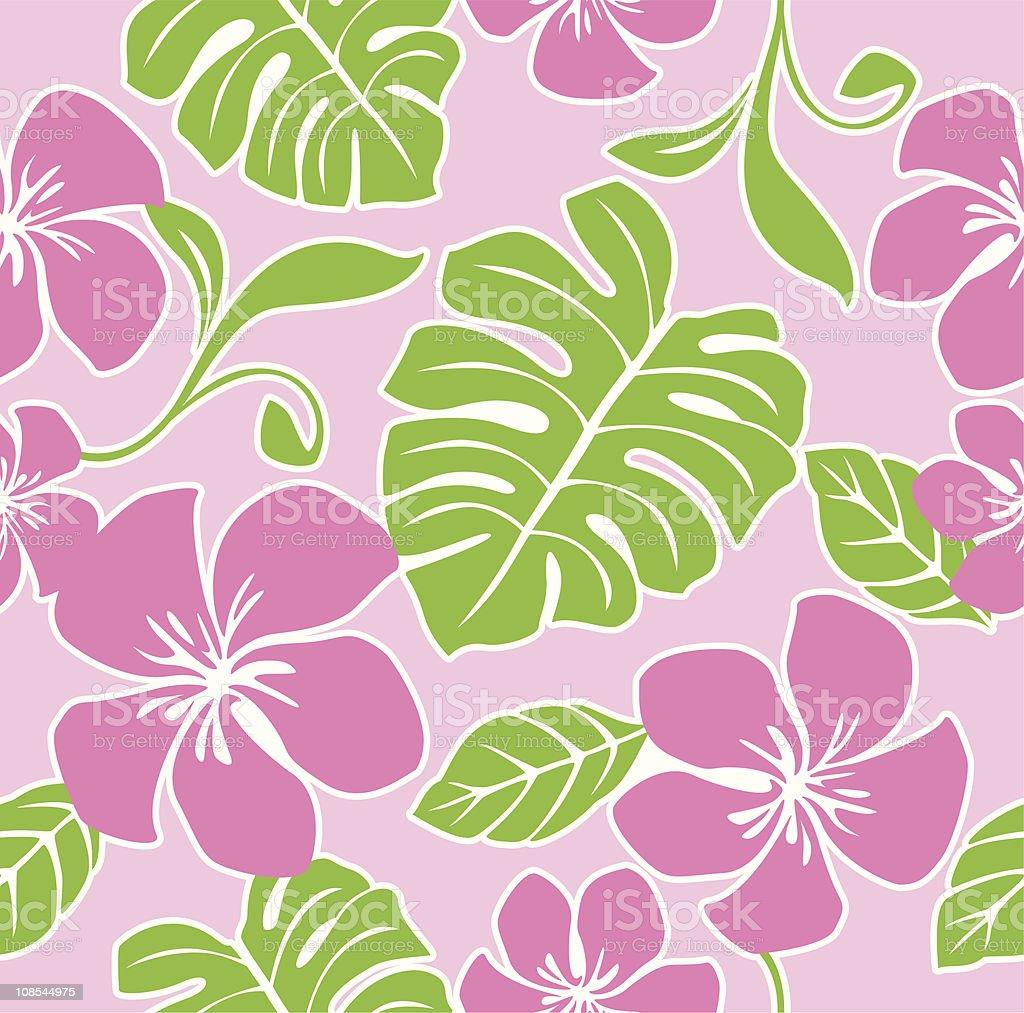 5059c3176316 Big Island - Hawaii Islands, Flower, Hawaii Islands, Pacific Islands,  Single Flower. Seamless Hawaii Summer Pattern ...