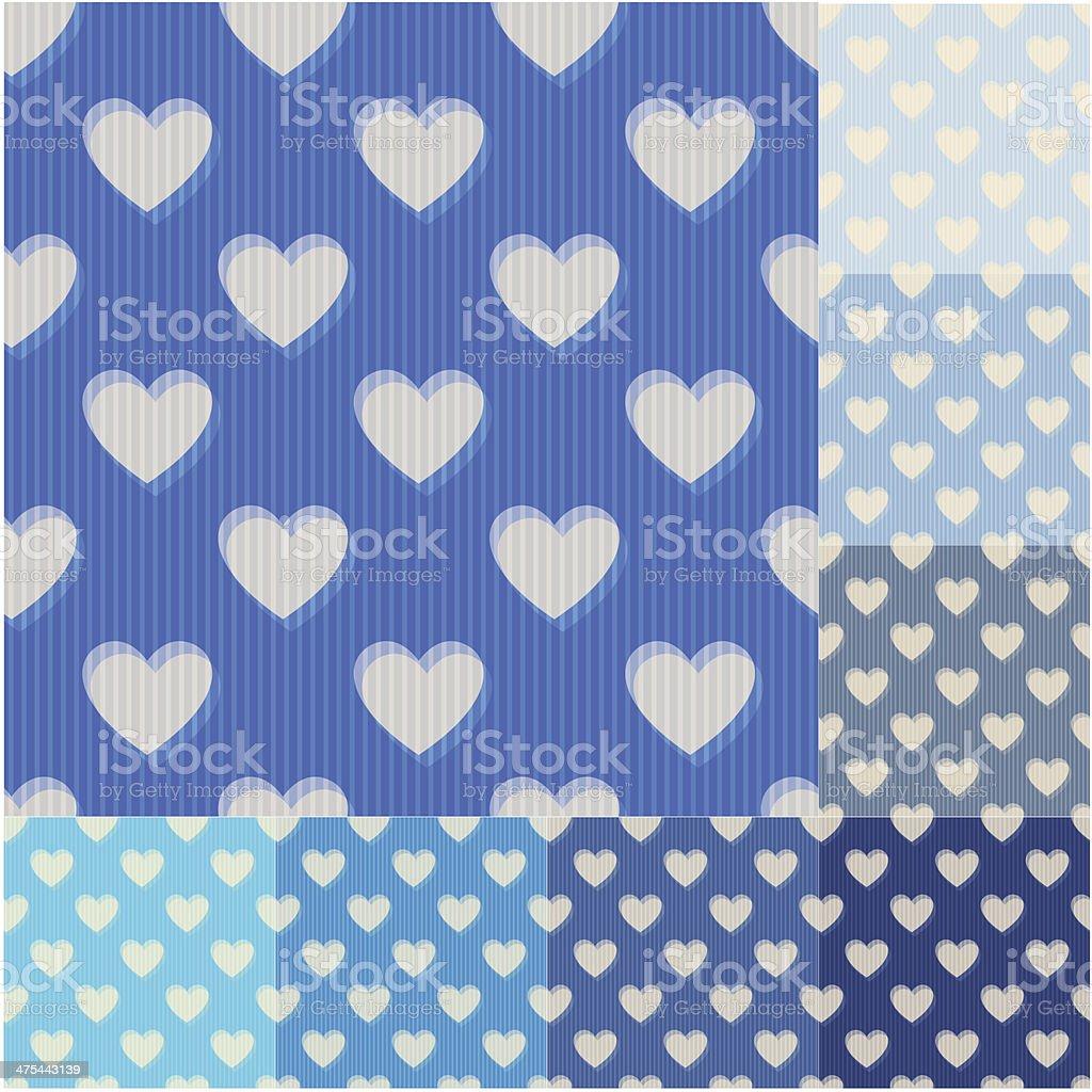 seamless heart pattern royalty-free stock vector art
