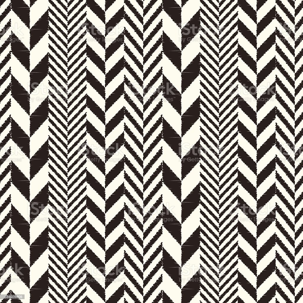 seamless herringbone fabric pattern vector art illustration