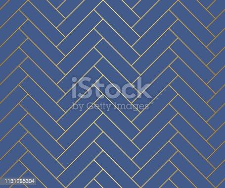 Elegant and sleek herringbone repeat vector pattern. Ideal for backgrounds, paper, textile.