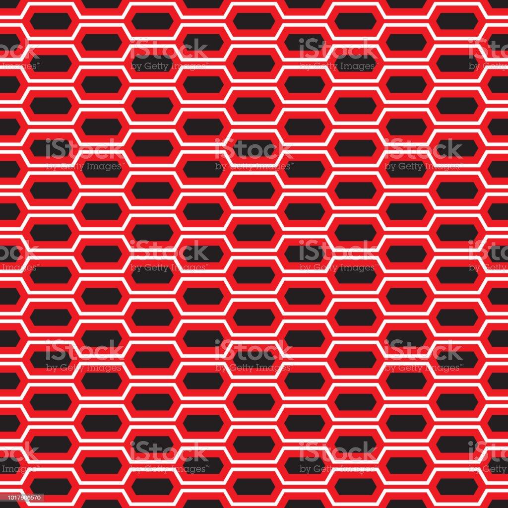 Panal hexagonal perfecta tecnología textura de fondo. - ilustración de arte vectorial