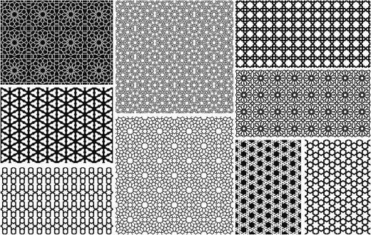 Seamless Islamic patterns