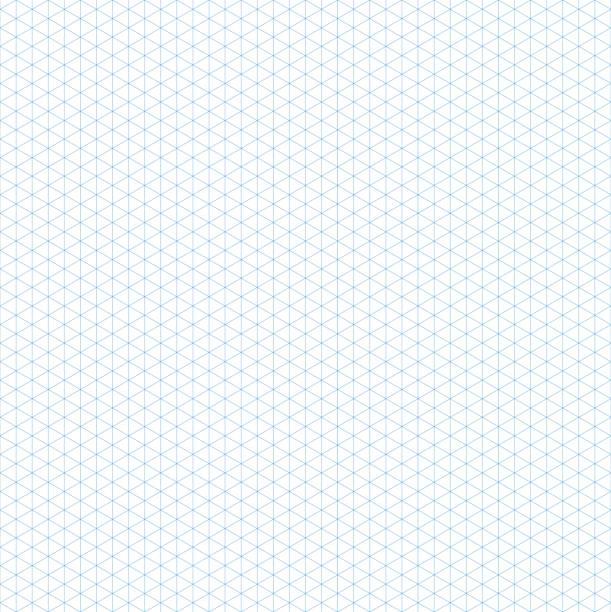 nahtlose isometrische raster. vorlage für design-vektor-illustration - gitter stock-grafiken, -clipart, -cartoons und -symbole