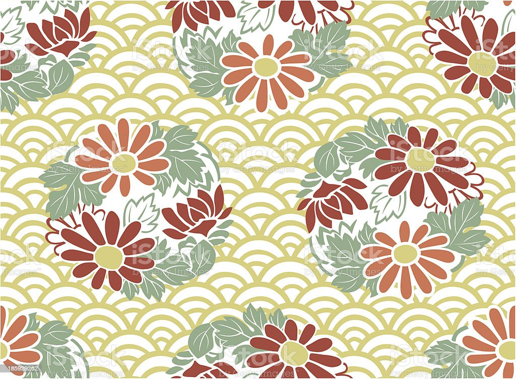 seamless japanese floral pattern royalty-free seamless japanese floral pattern stock vector art & more images of backgrounds