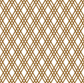 Seamless japanese pattern shoji kumiko in light brown color.ROUNED corners.
