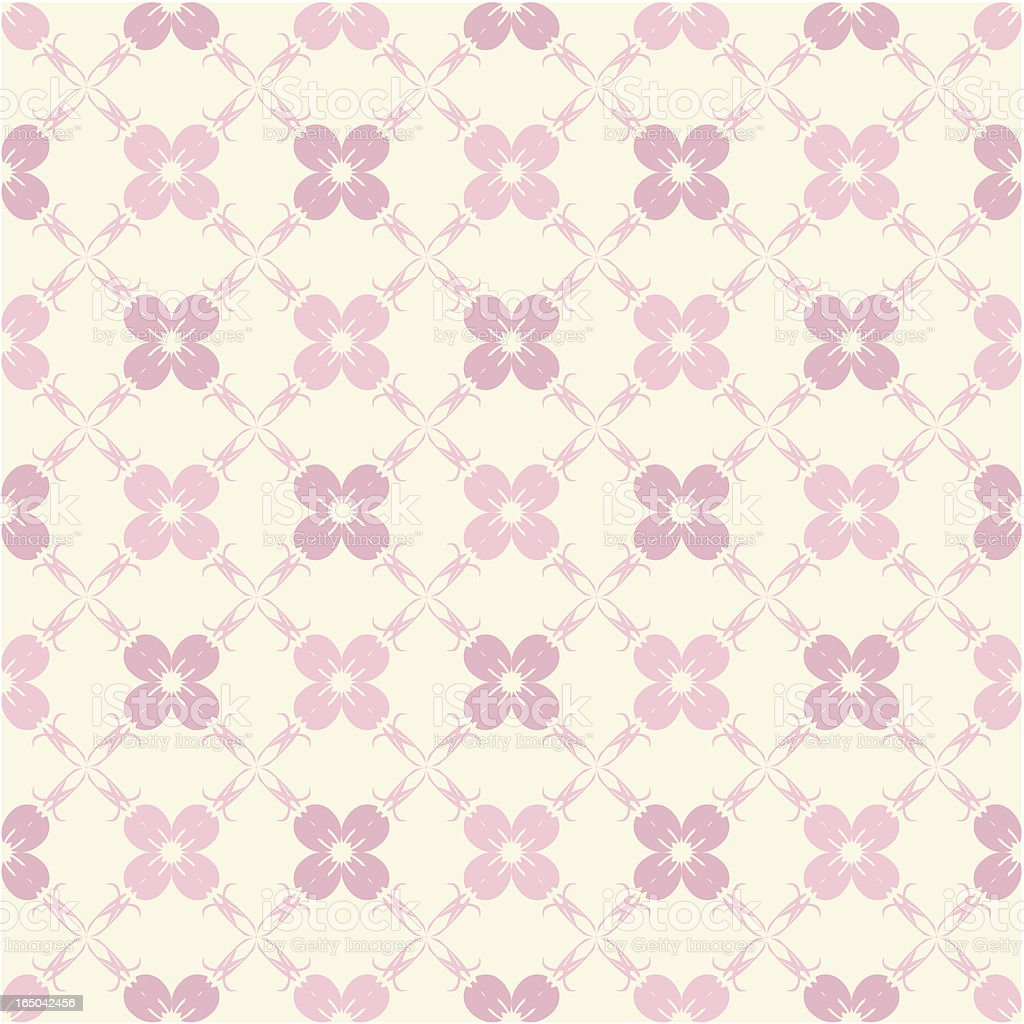 Seamless Jpop Flower Background ( Vector ) vector art illustration