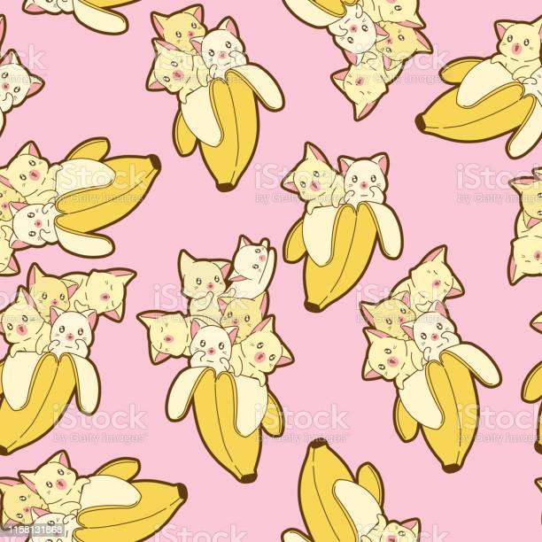 Seamless kawaii cat in banana pattern vector id1158131868?b=1&k=6&m=1158131868&s=612x612&h=jdwhjp onso4hudkwu91  0cntxzogiawa26gfqa51g=