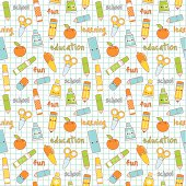 Cute repeating seamless kawaii pattern. Layered and groupped, high res. jpg included. Vector Eps 8, no transprency nor gradients used. Please scroll down to see my lightbox with more similar images:
