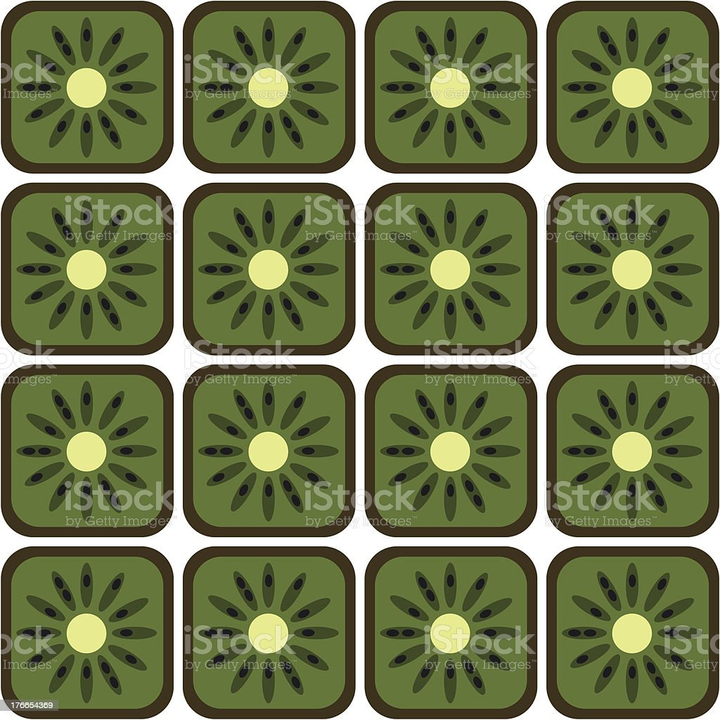 seamless kiwi pattern royalty-free seamless kiwi pattern stock vector art & more images of backgrounds