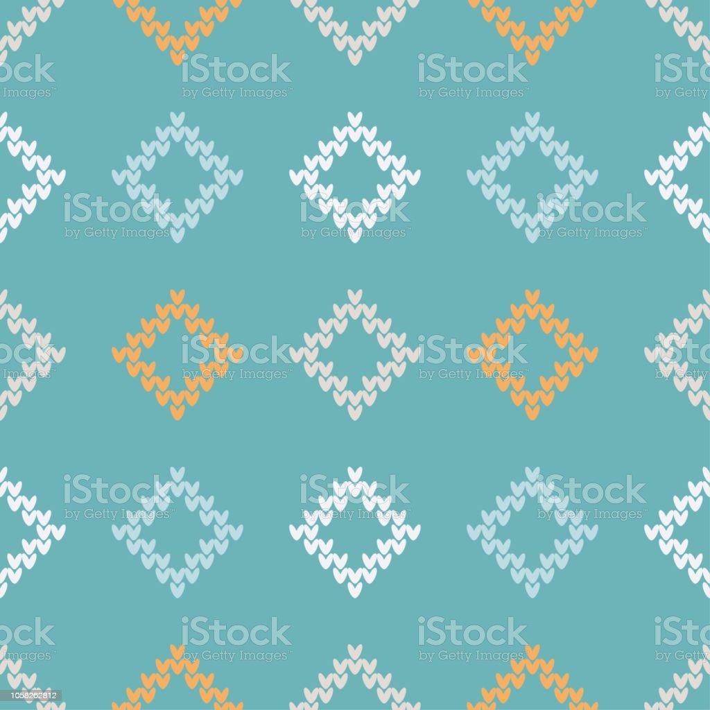 シームレス ニット パターン暖かいセーター印刷します布のデザイン壁紙