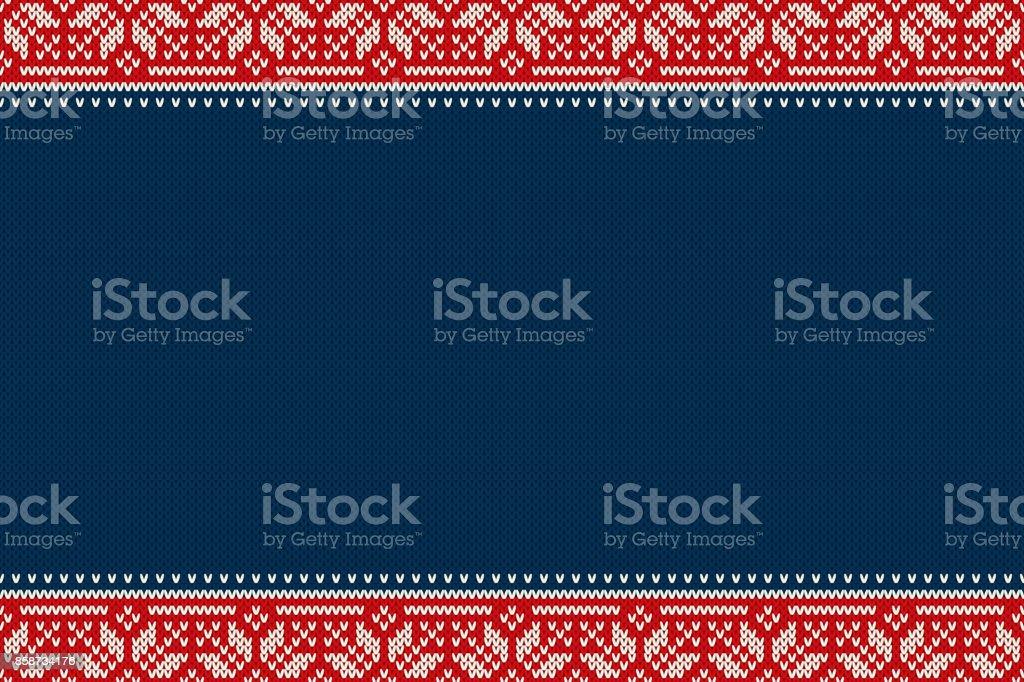 Asombroso Media De La Navidad Patrón De Punto Libre Colección ...