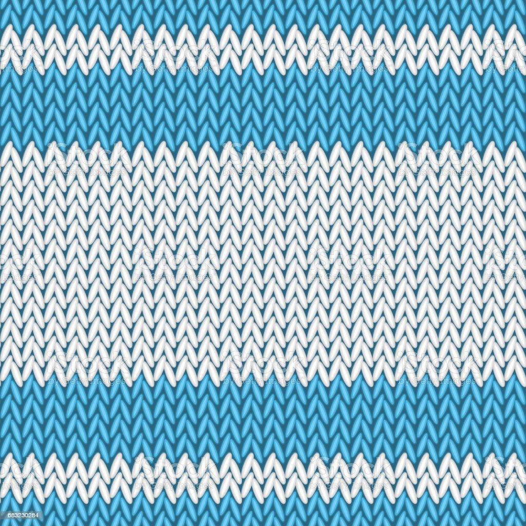 Seamless knitted pattern seamless knitted pattern - arte vetorial de stock e mais imagens de abstrato royalty-free