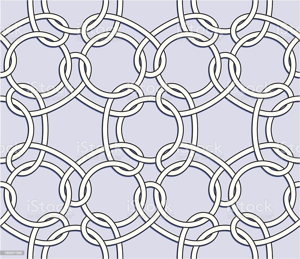 Seamless Knot royalty-free stock vector art