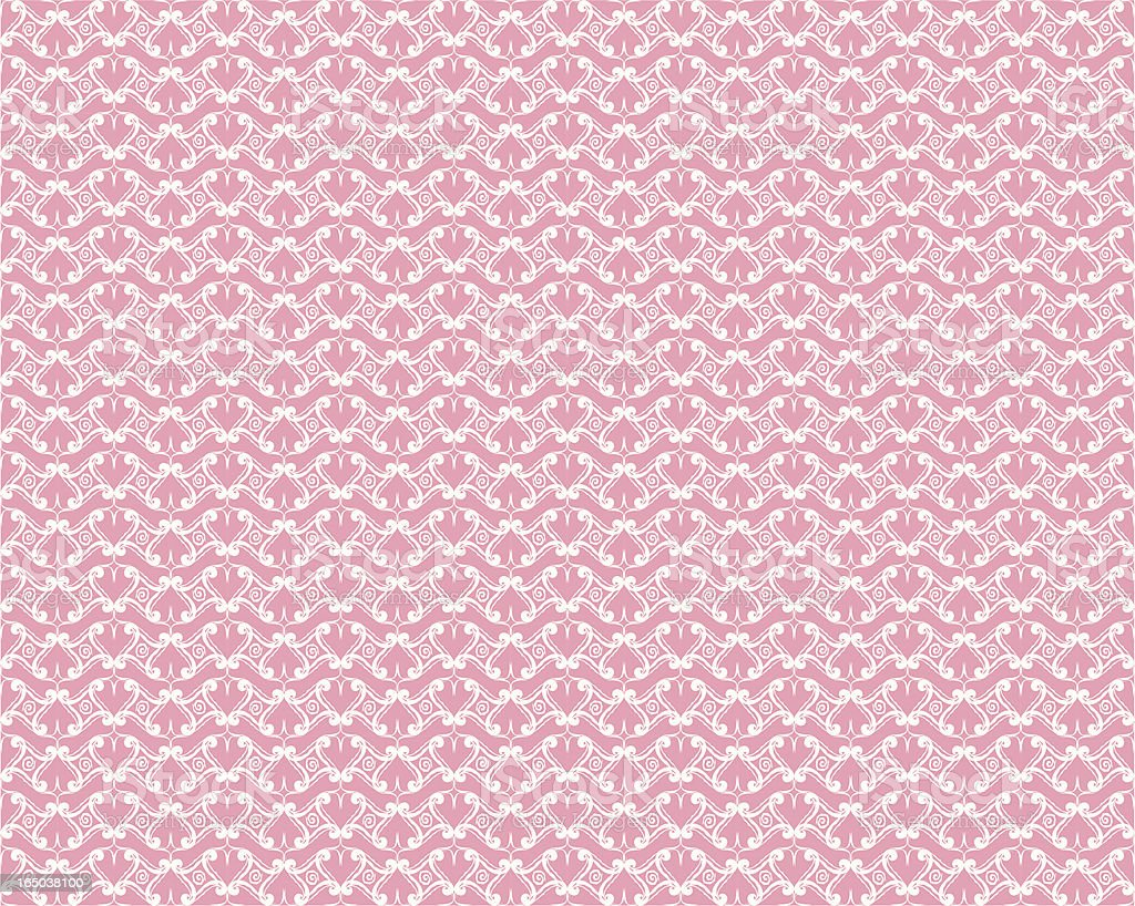 Seamless Lace Background ( Vector ) vector art illustration