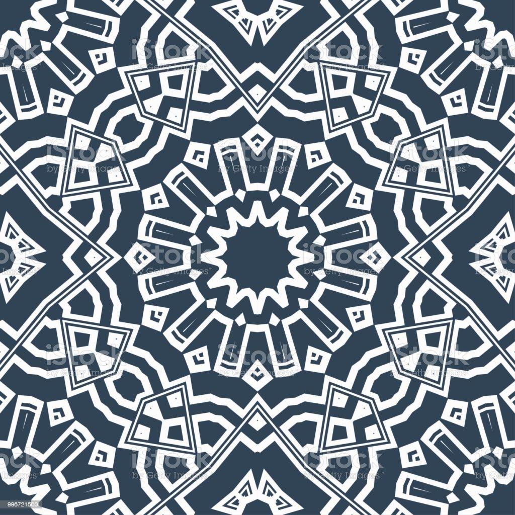 Seamless Vector Floral Wallpaper Stock Vector C Malkani 194594242