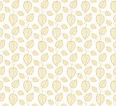 istock Seamless leaf background 1190639681