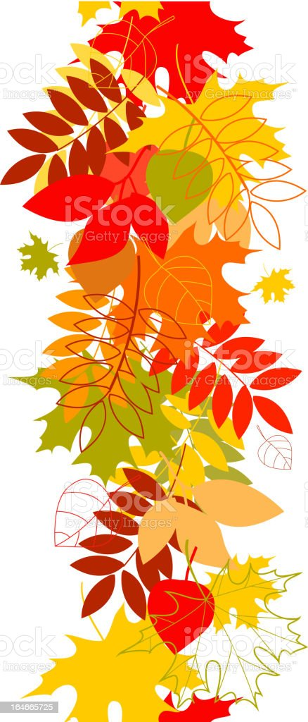 seamless leaf pattern vector background royalty-free stock vector art
