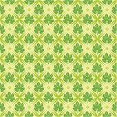 Seamless Leaf Pattern ( Vector )
