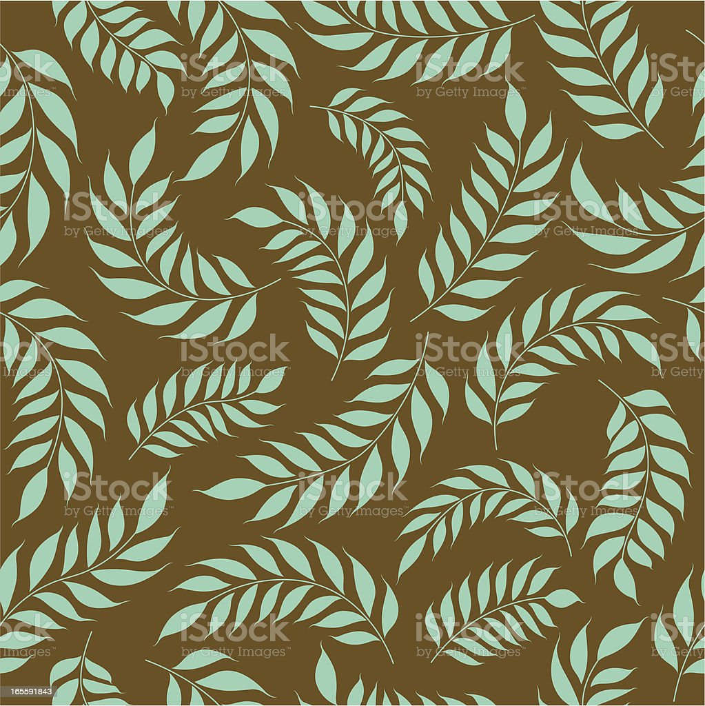 Seamless Leaf Pattern royalty-free stock vector art