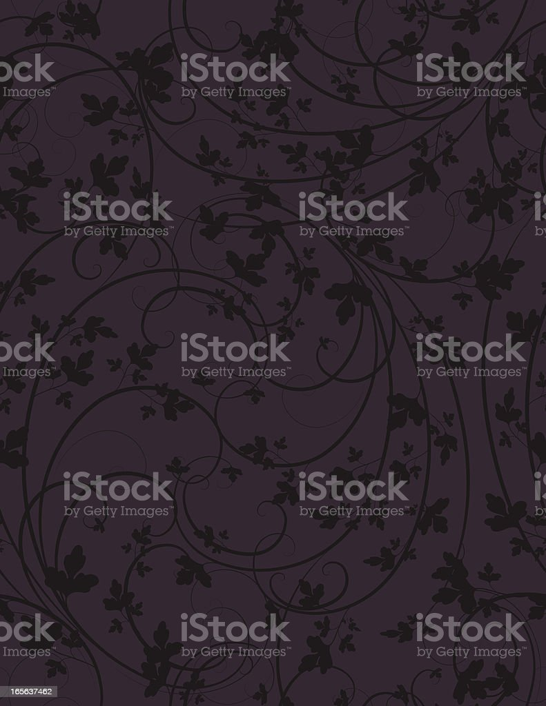 Seamless Leafy Wallpaper royalty-free seamless leafy wallpaper stock vector art & more images of antique
