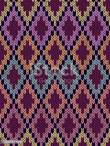 Seamless Light Baby Textile Background