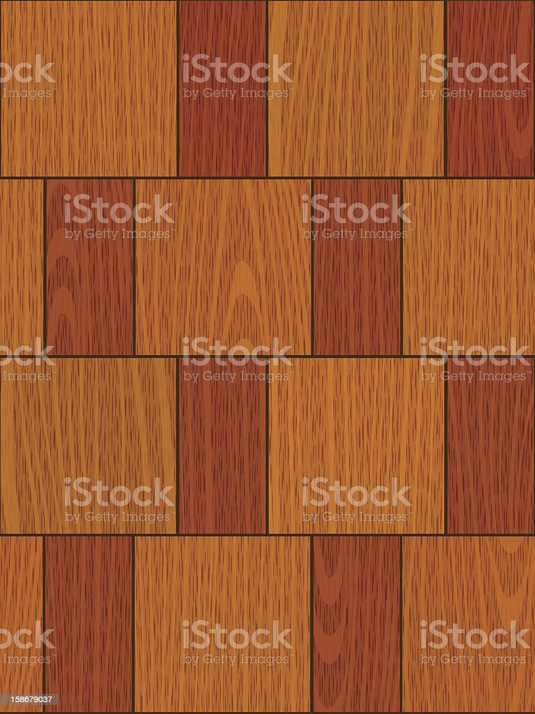 seamless light oak square parquet panel texture royalty-free stock vector art
