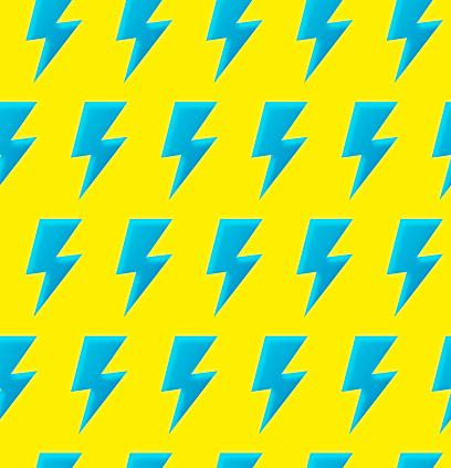Seamless Lightning Background