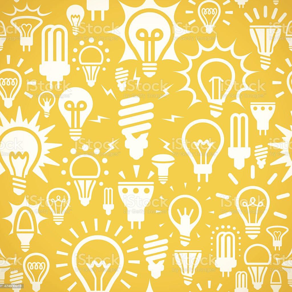 Seamless Lights Background vector art illustration