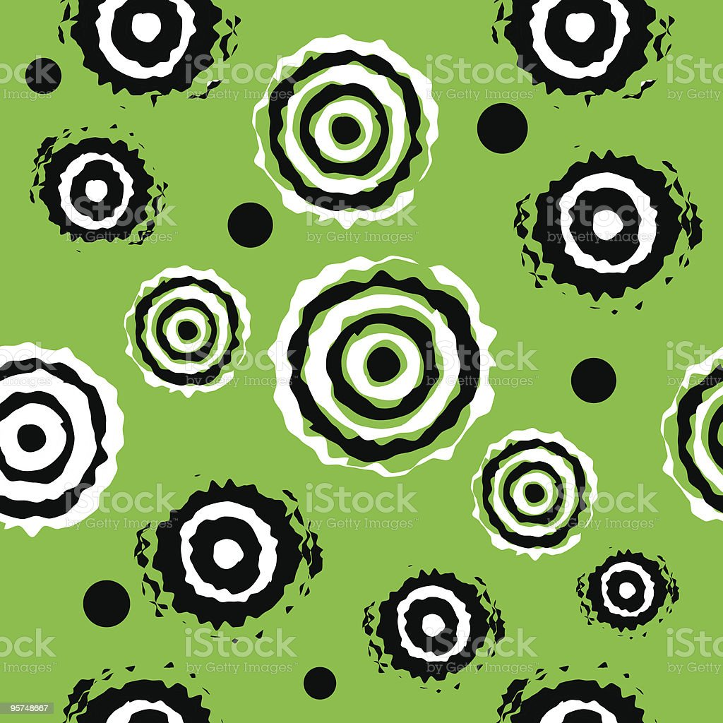 Seamless lime vibrating wallpaper background tile royalty-free stock vector art