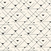 Seamless line abstract pattern tile background