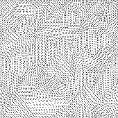 istock Seamless line hand drawn pattern 907961874