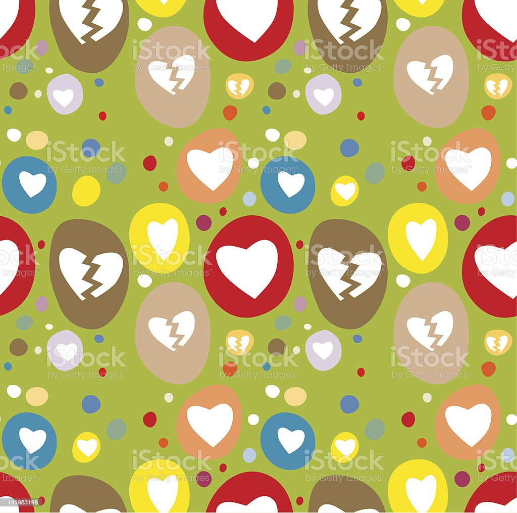 Seamless Love Pattern royalty-free seamless love pattern stock vector art & more images of backgrounds