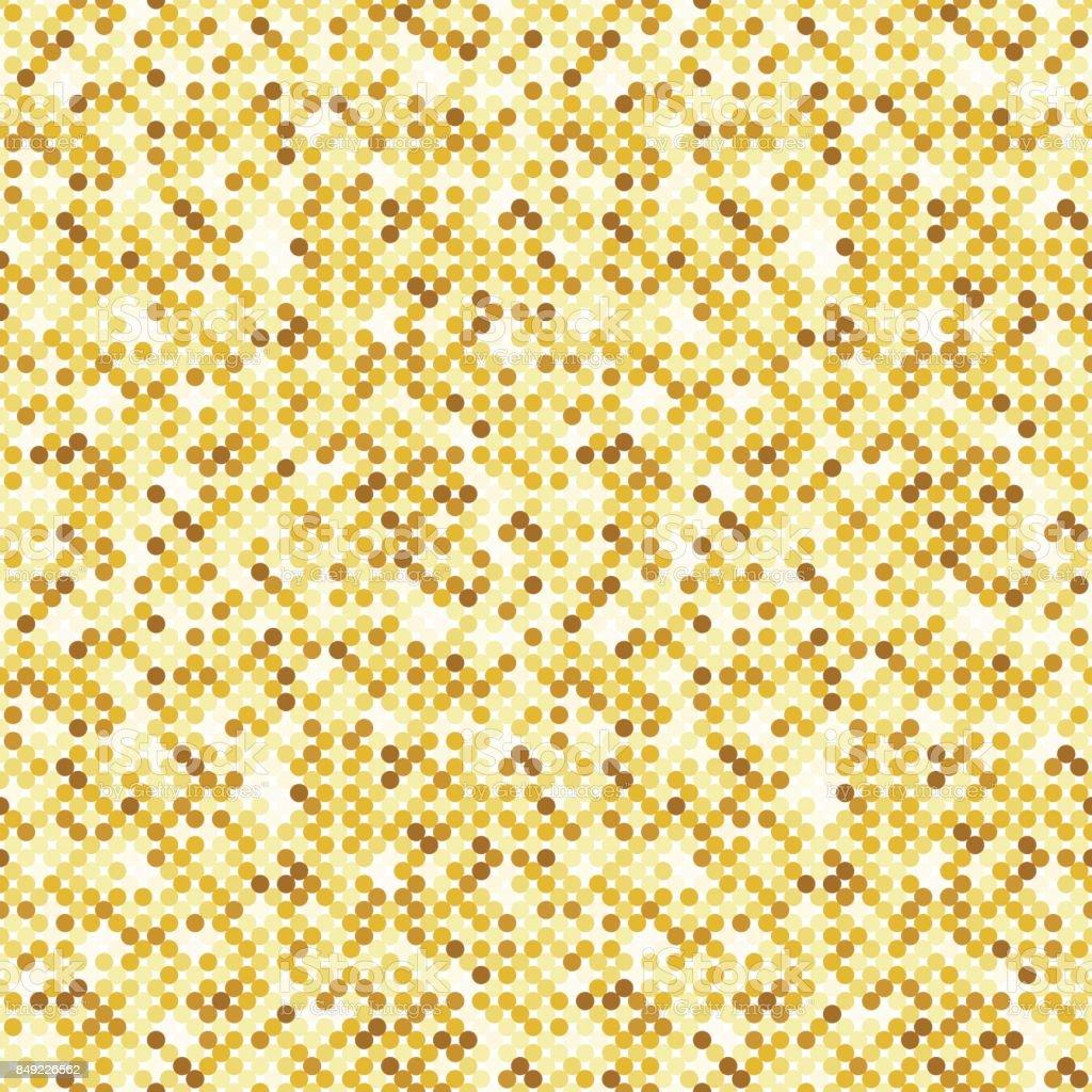 Seamless luxury golden glitter texture vector art illustration