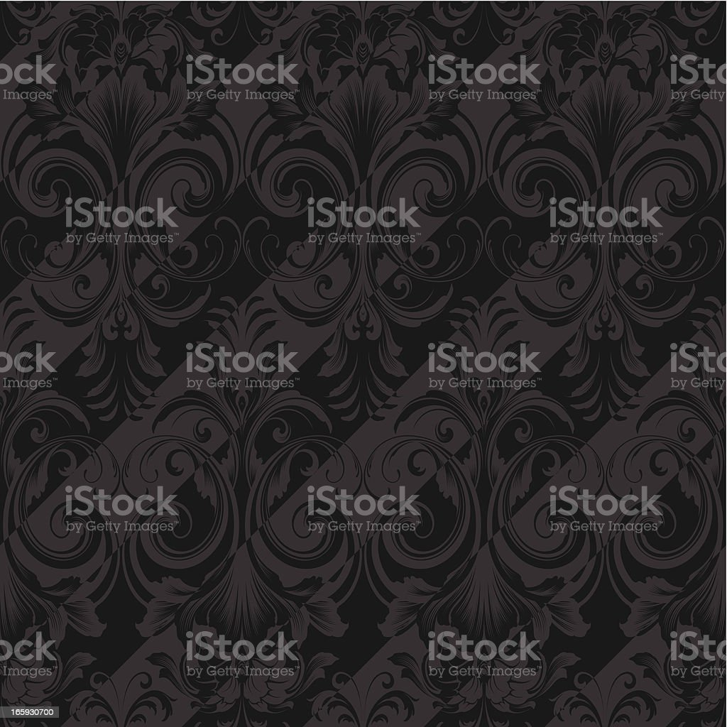 Seamless luxury wallpaper background royalty-free seamless luxury wallpaper background stock vector art & more images of arts culture and entertainment