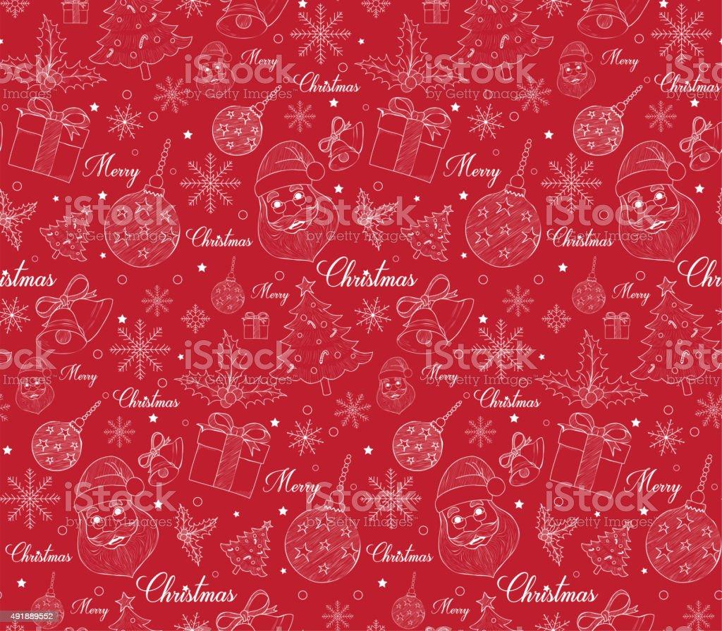 Disegni Di Natale Vettoriali.Vernice Buon Natale Disegno Di Linea Disegni Immagini Vettoriali