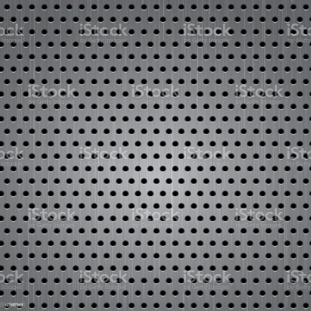 Seamless metal texture background royalty-free stock vector art