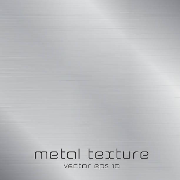 Seamless metal texture background向量藝術插圖