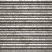 seamless metallic sheet garage door background_vector