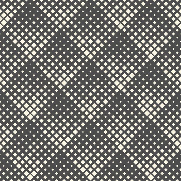 Nahtlose moderne Halftone Pattern. Abstrakte Grafik-Design – Vektorgrafik