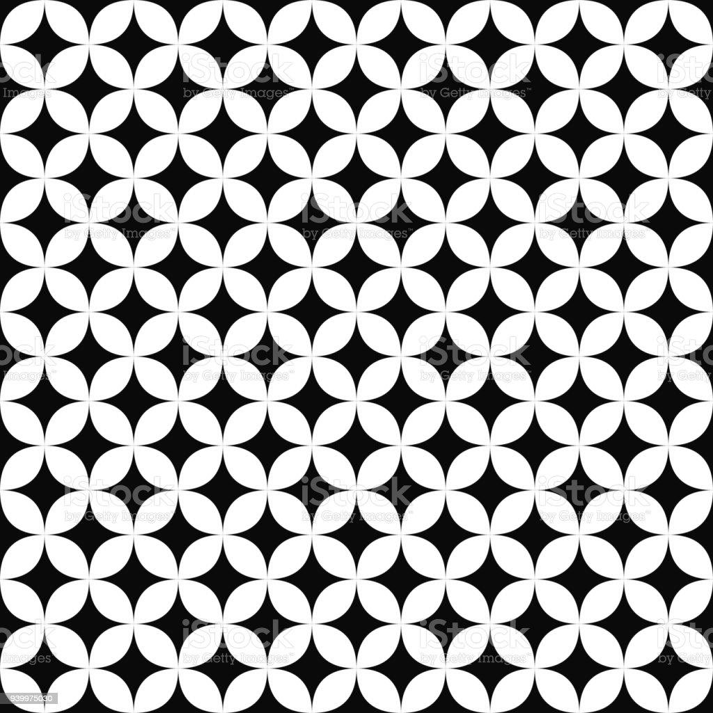 Seamless Monochromatic Star Pattern Royalty Free Seamless Monochromatic Star  Pattern Stock Vector Art U0026amp;