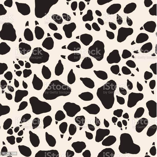 Seamless monochrome animal track pattern background vector id852443398?b=1&k=6&m=852443398&s=612x612&h=yjgjflzkxj1tadbyryxv cllxjynybztsio8wqzrj64=